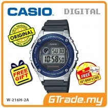 CASIO DIGITAL W-216H-2AV Watch | Alarm 50 Meter Water Resist [PRE]