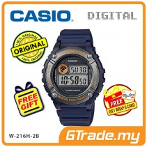CASIO DIGITAL W-216H-2BV Watch | Alarm 50 Meter Water Resist [PRE]