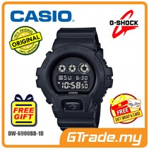 CASIO G-SHOCK DW-6900BB-1D Digital Watch | Matte Black