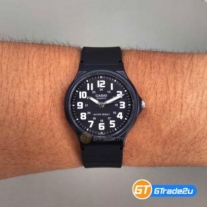 [READY STOCK] CASIO ANALOG Men Watch MQ-71-1BV | Simple Full Black