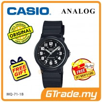 [READY STOCK] CASIO ANALOG Men Watch MQ-71-1BV | Simple Full Black