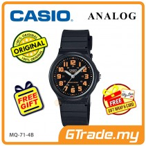 CASIO ANALOG Men Watch MQ-71-4BV | Simple Full Black