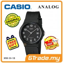 [READY STOCK] CASIO ANALOG MW-59-1BV Mens Watch | Date Display 50m Resist