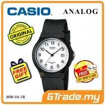 CASIO ANALOG MW-59-7BV Mens Watch | Date Display 50m Resist