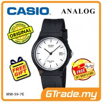 [READY STOCK] CASIO ANALOG MW-59-7EV Mens Watch | Date Display 50m Resist