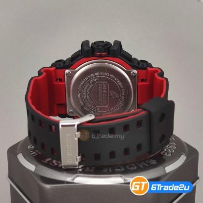 Casio G-Shock Men GA-400HR-1A GA-400HR-1 GA400HR-1A Analog Digital GA400 Watch Red Black Resin Band G Shock . watch for man . jam tangan lelaki . casio watch for men . casio watch . men watch . watch for men [READY STOCK]
