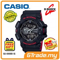[READY STOCK] CASIO G-SHOCK GA-400HR-1A Analog Digital Watch | Bi-Color Molding