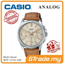 CASIO STANDARD MTP-1375L-9AV Analog Mens Watch | Multi-Hand 50M WR [PRE]