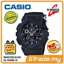 CASIO G-SHOCK GA-100BBN-1A Analog Digital Watch