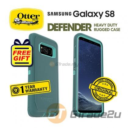OTTERBOX Defender Belt Clip Holster Case | Samsung Galaxy S8 Aqua *Free Gift