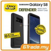 OTTERBOX Defender Belt Clip Holster Case | Samsung Galaxy S8 Black