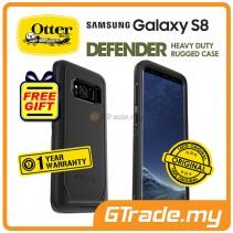 OTTERBOX Defender Belt Clip Holster Case   Samsung Galaxy S8 Black *Free Gift