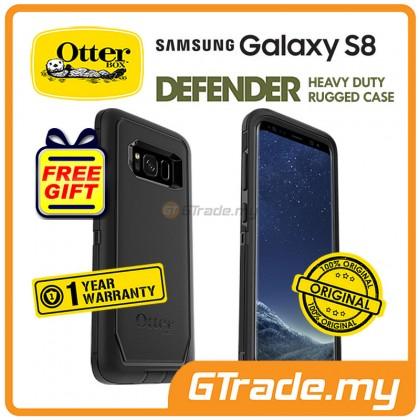 OTTERBOX Defender Belt Clip Holster Case | Samsung Galaxy S8 Black *Free Gift