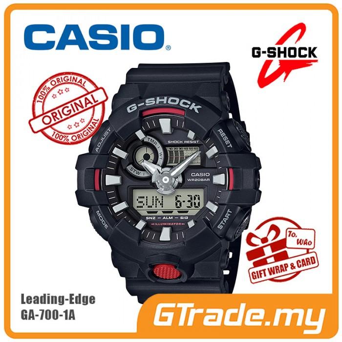 best service f81ee 26f86 READY STOCK] CASIO G-SHOCK GA-700-1A Digital Analog Watch ...