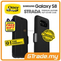 OTTERBOX Strada Premium Leather Case | Samsung Galaxy S8 Onyx