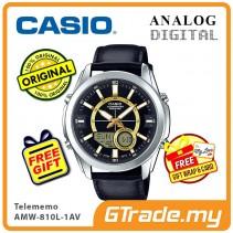CASIO Men AMW-810L-1AV Analog Digital Watch | Telememo 10 Yrs Battery [PRE]