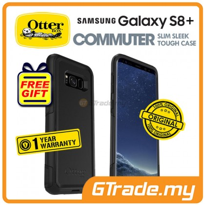 OTTERBOX Commuter Dual Layer Case Samsung Galaxy S8 Plus Black *Free Gift