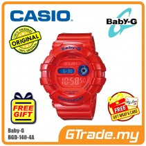CASIO Ladies BABY-G BGD-140-4 Watch | Dual Illuminator Flash Alert
