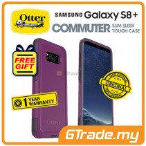 OTTERBOX Commuter Dual Layer Case Samsung Galaxy S8 Plus Plum