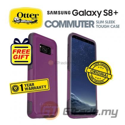 OTTERBOX Commuter Dual Layer Case Samsung Galaxy S8 Plus Plum *Free Gift
