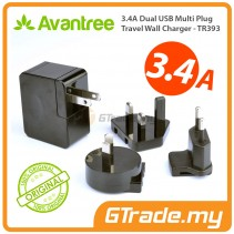 AVANTREE 3.4A Universal 2 USB Charger