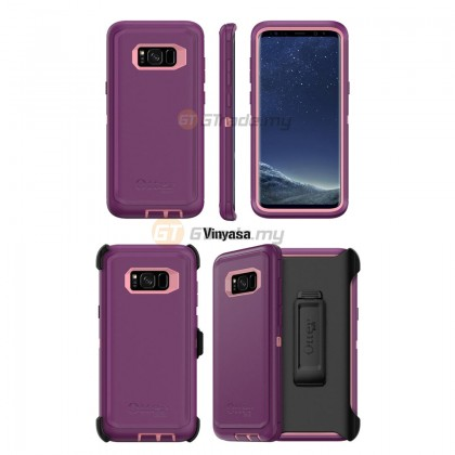 OTTERBOX Defender Belt Clip Holster Case Samsung Galaxy S8 Plus Aqua *Free Gift