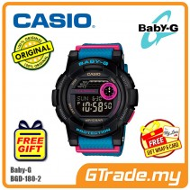 CASIO Ladies BABY-G BGD-180-2 Watch | G-LIDE for female surfers