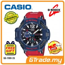 CASIO G-SHOCK GA-1100-2A Watch | GRAVITYMASTER Twin Sensor