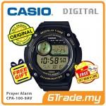 [READY STOCK] CASIO Men Prayer CPA-100-9AV Digital Watch | Hijri Prayer Alarm