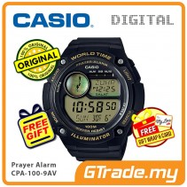 CASIO Men Prayer CPA-100-9AV Digital Watch | Hijri Prayer Alarm