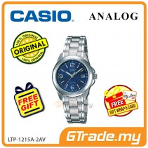[READY STOCK] CASIO CLASSIC ANALOG LTP-1215A-2AV Ladies Watch | Steel Date Display