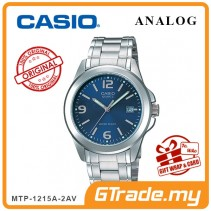 CASIO CLASSIC ANALOG MTP-1215A-2AV Men Watch | Steel Date Display