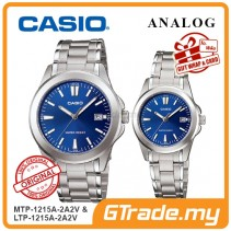 CASIO ANALOG MTP-1215A-2A2V & LTP-1215A-2A2V Analog Couple Watch