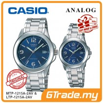 CASIO ANALOG MTP-1215A-2AV & LTP-1215A-2AV Analog Couple Watch