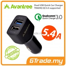 AVANTREE 5.4A QC 3.0 Fast Car Charger