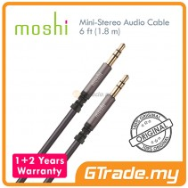 MOSHI Mini Stereo Audio Cable 3.5mm 6 ft 1.8m 24K gold plated connect