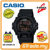CASIO G-SHOCK DW-6900MS-1 Digital Watch | POLIS EVO Military Look