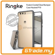 RINGKE Fusion Crystal Clear Tough Bumper Case | Huawei P10 - Smk Black