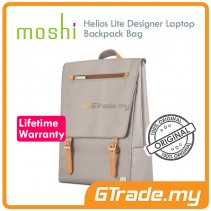 MOSHI Laptop Backpack Bag Helios Lite Grey Apple MacBook Air Pro 13'