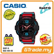 CASIO Ladies BABY-G BGA-180-4B Watch | G-Lide Surfing Series