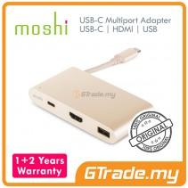 MOSHI USB-C Multiport Adapter USB-C+HDMI+USB Apple MacBook PRO 2016 GD