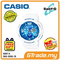 [READY STOCK] CASIO Ladies BABY-G BGA-190GL-7B Watch | Beach Traveler Series
