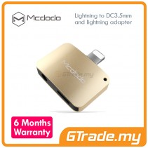 MCDODO Lightning to Audio 3.5mm Jack Adapter Apple iPhone 7 7 Plus GD