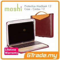 MOSHI Protective Leather Case Codex 12 Apple MacBook 12 Red