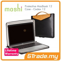 MOSHI Protective Leather Case Codex 12 Apple MacBook 12 Black