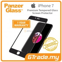 PanzerGlass Premium Tempered Glass Screen Protector Apple iPhone 8 7 MBK