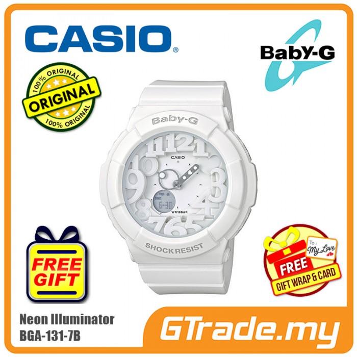 7a2fbc9bc9dd CASIO Ladies BABY-G BGA-131-7B Digital Watch