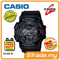 CASIO G-SHOCK GA-400-1B Analog Digital Watch | Big Rotary Switch