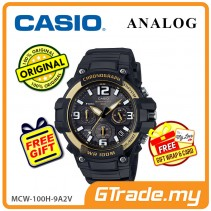 CASIO MEN MCW-100H-9A2V Analog Watch | Tough looking case