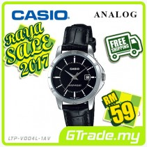 ✰RAYA✰CASIO STANDARD LTP-V004L-1AV Analog Ladies Watch | Leather Easy